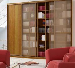 Книжный шкаф дуб