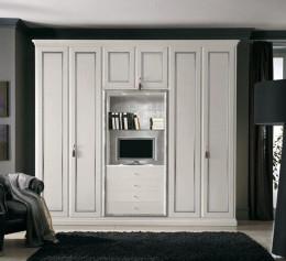 Шкаф белый в спальню