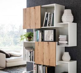 Шкаф книжный современный