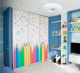 Шкаф стеллаж в детскую