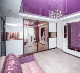 Гостиная диван со шкафом