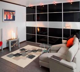 Шкаф для гостиной в современном стиле цена