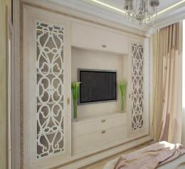 Шкаф стенка в гостиную классика