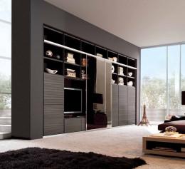 Шкаф под телевизор в современном стиле