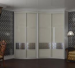 Шкафы угловые белые большие
