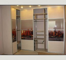 Шкафы в прихожую в коридор угловые