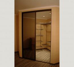 Угловые шкафы с двумя дверцами