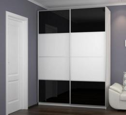Шкаф с черным лакобелем