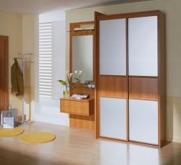 Шкаф для одежды в прихожую узкий