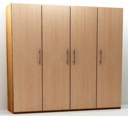 Шкаф четырехстворчатый распашной 190 см