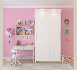 Детский двустворчатый шкаф